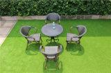 庭のブラウン防水Textileneの椅子および円卓会議