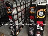 Estante de visualización del metal del SGS para las latas
