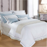 Coton 100% ou linge de lit d'hôtel de T/C 50/50/Embroidery/à la maison (WS-2016182)