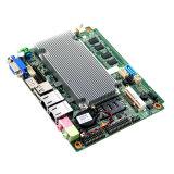 Nano двойная материнская плата Intel N2600 сердечника промышленная с LAN