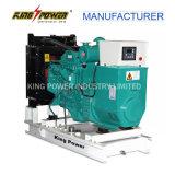 refrigerar de água 50kw gerador do diesel de quatro cilindros
