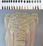 """"""" grampo 80g/20 na extensão reta 613#/60# de Slilky do cabelo humano"""