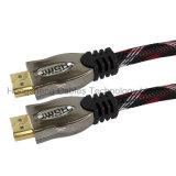 Mehrzwecktasche-Verpackung und HDMI Verbinder-Typ HDMI Kabel kompatibel mit PS4