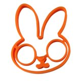Прессформа шаржа яичка силикона формы кролика высокого качества милая
