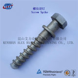Ferroviário Professional Fasteners Supplier Screw Spike