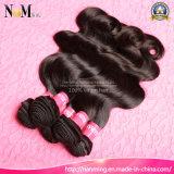 unverarbeitete menschliche Haar-Einschlagfaden-Bündel-europäische Grad-Haar-Karosserien-Welle der Jungfrau-7A