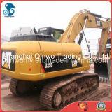 máquina escavadora hidráulica usada 2006/6000hrs da esteira rolante da lagarta 325D da Terraplenagem-Entrega 25ton Medium-Scale