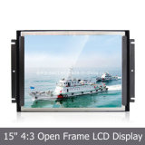 "Auka Open Frame Monitor com 15 ""LCD Display LED Backlight"