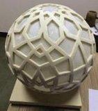 Altavoz del audio de la linterna de la iluminación del jardín del paisaje de la bola de la piedra arenisca