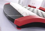 Base de couro vermelha do sexo do projeto A022 moderno