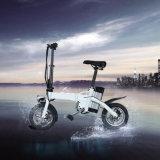 Una bici elettrica pieghevole da 12 pollici della lega di alluminio del rifornimento della fabbrica