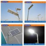 Luz de rua solar Integrated 12W do diodo emissor de luz da venda quente