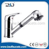 Faucet sanitário do cromo do misturador do dissipador da bacia dos mercadorias do Faucet de bronze da bacia