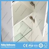 Muebles del cuarto de baño del estilo del nuevo alto de lustre del interruptor del tacto del LED nuevos de la pintura del baño de la cabina diseño moderno de la unidad (BF132M)