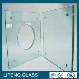 低い鉄によってカスタマイズされる平らな緩和されたガラス