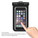 Запатентованное Button High Sealed Below 6 Inch Diagonal Universal Waterproof Bag на iPhone 6 Plus