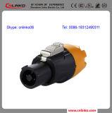 Verbinder CER Bescheinigungwasserdichter Pin-IP67 3 Powercon 20A