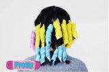 Ролик волос дешевого инструмента Curler волос пластичный