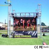Im Freien Miete LED-Bildschirmanzeige P8 hoch heller farbenreicher LED-Bildschirm (AL Schrank)