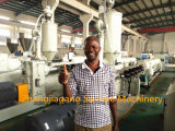 Zuverlässiger Plastik-Belüftung-elektrisches Rohr-Rohr-Wasser-Rohr-Strangpresßling, der Maschine herstellt