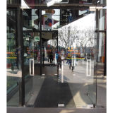Les portes d'oscillation de Frameless de qualité avec Tublar traite Kz059
