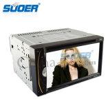 Игрок автомобиля DVD игрока мультимедиа корабля Suoer 2 DIN Radio с Bluetooth (MP-265)
