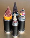 銅PVC (XLPE)絶縁されたPVCによっておおわれる制御ケーブル