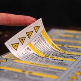 Het purpere Etiket van de Sticker van het Document van de Druk (cmg-streptokok-007)