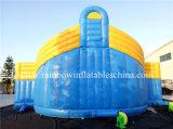 Jeux gonflables de vente chauds de parcours/sport de combattant de glissière pour le loyer (RB91018)
