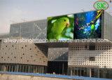 Visualización video al aire libre impermeable de Abt SMD P8 LED que hace publicidad de la pantalla