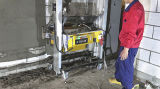 Machine de mélange de plâtre en béton à construction automatique