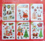 ステッカーを飾る卸し売りクリスマス