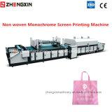 Tela não tecida monocromática Zxh-A1200 da máquina de impressão da tela