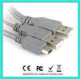 Alta velocidad de calidad superior del USB 2A a Bm - Gris