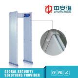 24 детектора металла дверной рамы Oudoor уровня обеспеченностью зон обнаружения 100