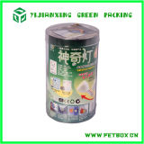 Пробка коробки пластичного цилиндра Pollution-Free упаковывая круглая