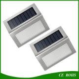 2LED 옥외 램프가 소형 태양 LED 벽 층계에 의하여 점화한다