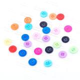 Boutons fondamentaux de plastique de bouton de chemise de résine