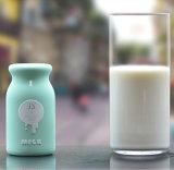 Frasco de leite novo do banco do poder