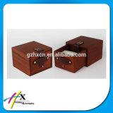 Cadre en bois en bois laqué par coutume à extrémité élevé de montre Pocket