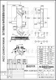 Interruptor do atuador do fabricante micro/interruptor de corrediça com tipo de SMD (MSK-1118)