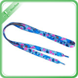 Buntes Screen Printed Polyester Material Hollow Shoe Lace für You