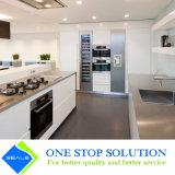 Alto armadio da cucina bianco della mobilia dell'armadietto di rivestimento della lacca di lucentezza (ZY 1149)