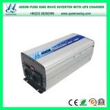 DC48V à l'inverseur pur de chargeur de l'onde sinusoïdale d'AC110/120V 4000W (QW-P4000UPS)