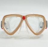 Mascherina di Gopro di immersione subacquea, mascherina di immersione subacquea di pelle