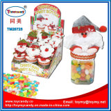 사탕 콘테이너를 가진 Xmas 크리스마스 산타클로스 장난감