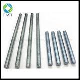 Galvanizado de acero al carbono de grado 4.8 Varilla Roscada