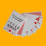 330GSM Negro papel básico Poker Playing Card Poker personalizada