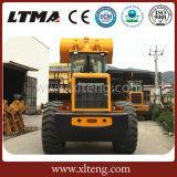Caricatore famoso cinese 6t del macchinario di costruzione con grande capienza