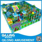 Campo de jogos interno plástico dos cabritos (QL-3024A)